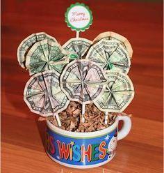 как подарить деньги с приколом
