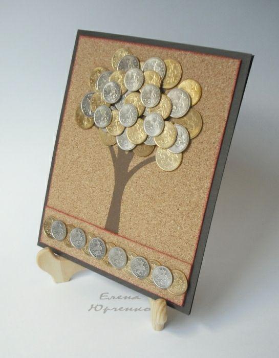 открытки с деньгами и монетами доме вместе музыкантами