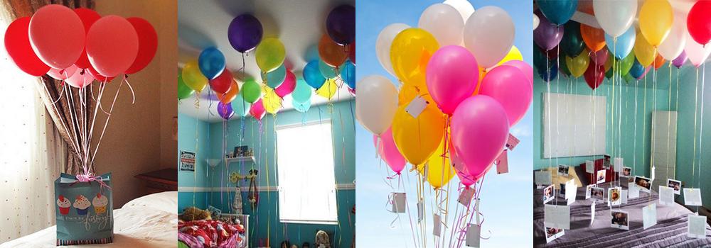 Поздравления воздушными шарами оригинальные