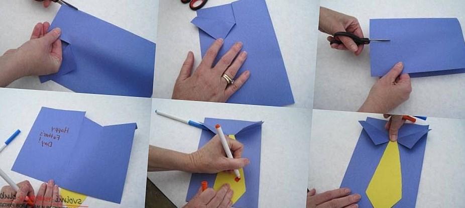 Открытка дедушке на день рождения своими руками от внучки 9 лет